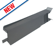 Glidevale Grey Universal Dry Verge Tile Units 10 Pack