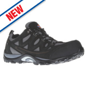 Dickies Alford Safety Trainers Grey/Black Size 9