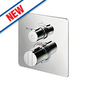 Ideal Standard Concept Easybox Built-In Thermostatic Mixer Shower Valve Fixed Chrome