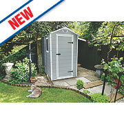 Keter Manor Plastic Shed 4