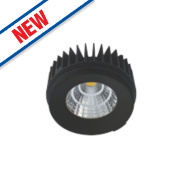 Luceco Fixed Recessed LED Downlight 1100Lm Black 15W