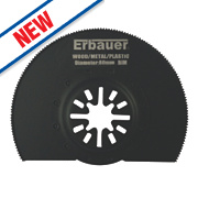 Erbauer Bi-Metal Segmented Multi-Cutter Blade 80mm