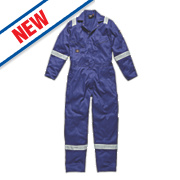 "Dickies WD2279 Zip Front Coverall Royal Blue Small 36-38"" Chest "" L"