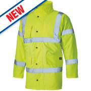 Dickies Hi-Vis Motorway Jacket Saturn Yellow Medium 42
