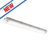 Luceco Electronic Ignition Weatherproof LED Batten 2 x 48W 4320Lm 4ft