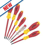 Wiha SoftFinish VDE Screwdriver Set 7 Pieces