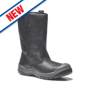 Scruffs Gravity Rigger Safety Boots Black Size 8
