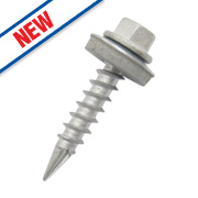 Easydrive Timber Roofing Double Slash Point Screws 6.3 x 45mm Pack of 100