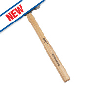 Forge Steel Hickory Handle Cross Pein Hammer 8oz
