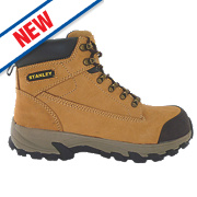 Stanley Milford Safety Boots Honey Size 12