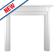 Focal Point Charlottesville Fire Surround White