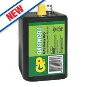 GP Batteries Greencell Lantern Battery PJ996 6V