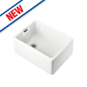 Ideal Standard White Traditional Belfast Sink 610 x 210 x 210mm
