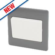 Schneider Electric Ultimate 1-Gang 2-Way10AX Intermediate Switch Grey