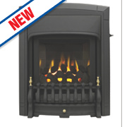 Valor Dream Slimline Black Slide Control Gas Inset Fire