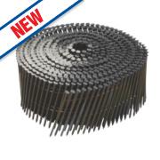 DeWalt Ring Shank Coil Nails Galvanised 2.1ga 35mm Pack of 21000
