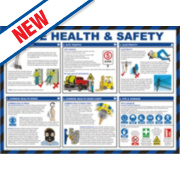 Site Health & Safety Poster 420 x 594mm