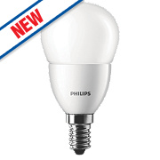 Philips Golf Ball LED Lamp Warm White SES 3W