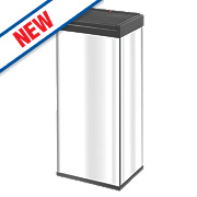 Hailo Big Box Touch Household Waste Bin Stainless Steel 60Ltr