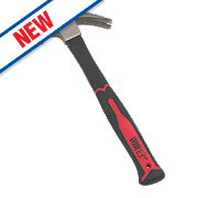 Forge Steel Fibreglass Shaft Claw Hammer 20oz (0.57kg)