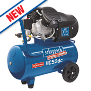 Scheppach HC52DC 50Ltr Double Cylinder Compressor 230V