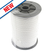 Wolseley Electric Fence Polytape White 20mm x 200m
