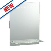 Saxby Omega LED Bathroom Shaver Mirror 2.1W