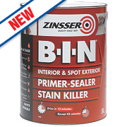 Zinsser B-I-N Primer Sealer 5Ltr