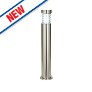 Saxby Equinox 23W Brushed Stainless Steel Bollard Light