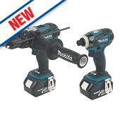 Makita DLX2005M 18V 4.0Ah Li-Ion Twin Pack Combi Drill & Impact Driver LXT