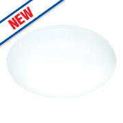 Saxby Plume LED Surface Fitting Light White mm 16W