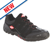 Lee Cooper Low Profile Trainer Black Size 8