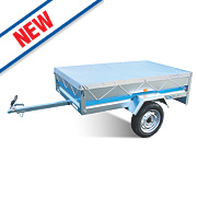 Maypole PVC Flat Cover for MP6810 Trailer