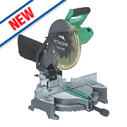 Hitachi C10FCE2 255mm Compound Mitre Saw 230V