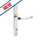 Mila High Security Type B Door Handle Pack Polished Chrome