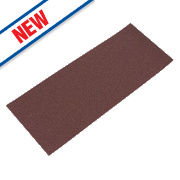 Flexovit Sanding Sheets Aluminium Oxide 230 x 93mm 80 Grit Pack of 10