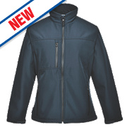 Portwest Charlotte Ladies Soft Shell Jacket Navy Medium