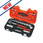 "Bahco 33pc 1/4"" & 3/8"" Socket Set"