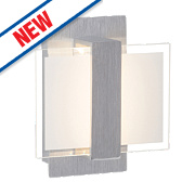 Brilliant Field 1-Light LED Wall Light Aluminium 6W 240V