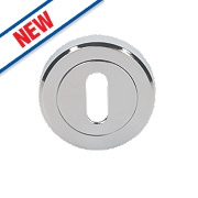 Smith & Locke Contemporary Escutcheon Polished Chrome 50mm