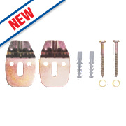 Rawlplug 67-482 Corner Basin Fixing Kit
