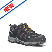 Scruffs Blaze Safety Trainers Black / Grey Size 10