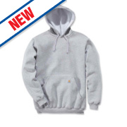 Carhartt K121 Hoodie Heather Grey Large