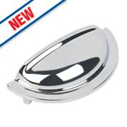 Hafele Henrietta Cup Handle Polished Chrome 92mm