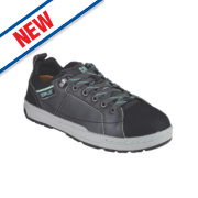 CAT Brode Ladies Safety Trainers Dark Grey / Mint Size 6
