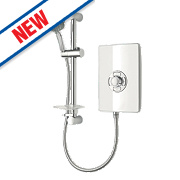 Triton Miniatures Manual Electric Shower White Gloss 8.5kW
