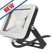 Brackenheath ispot Driverless LED Floodlight 10W Black