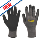 Stanley Builder's Gloves Grey Large