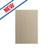 Matt Oak Slab Kitchen End Support Panel 600 x 18 x 900mm