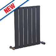 Ximax Oceanus Horizontal/Vertical Designer Radiator Anthracite 600x445mm